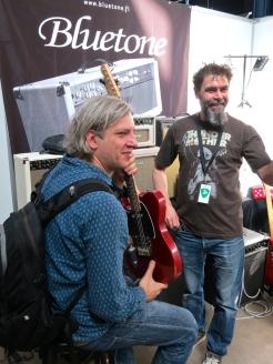 Bluetone Amps Matti Vauhkonen + visitor – Fuzz 2019