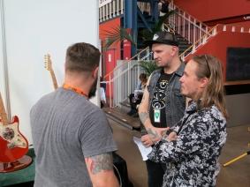 Ruokangas Guitars + Juha Ruokangas + visitors – Fuzz 2019