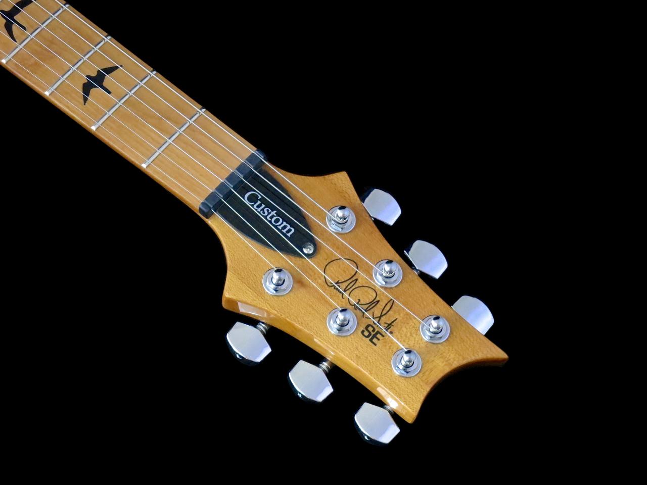 Review Prs Se Custom 24 Roasted Maple Kitarablogi Com Finland S Premier Guitar And Bass Blog