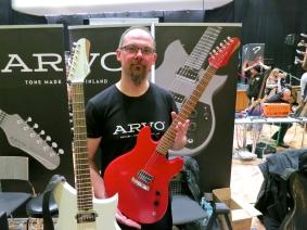 Tonefest 2020 – Arvo Guitars Teemu Korpi