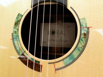 Tonefest 2020 – Koral Guitars rosette