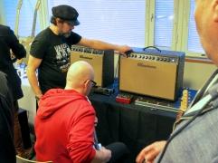 Tonefest 2020 – Matti Vauhkonen + visitor at Bluetone Amps
