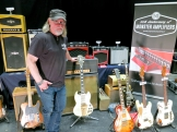 Tonefest 2020 – Monster Amps Visual Clone Guitars Juha Mäntymaa