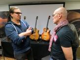 Tonefest 2020 – visitor at AJL-Guitars