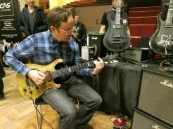 Tonefest 2020 – visitor at Flaxwood Guitars