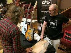 Tonefest 2020 – visitor at GAS Guitarworks
