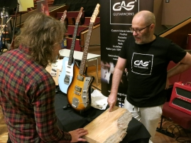Tonefest 2020 – visitor at GAS Guitarworks