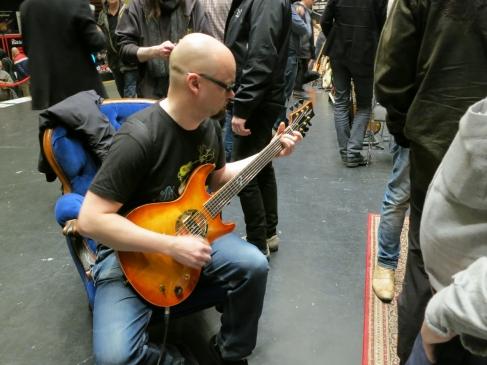 Tonefest 2020 – visitor at Ruokangas Guitars