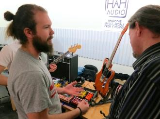 Tonefest 2020 – visitors at Häh Audio
