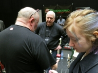 Tonefest 2020 – visitors at NordSound + Rune Petterson