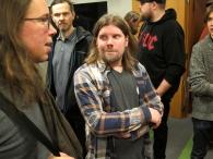 Tonefest 2020 – visitors + Olli Viitasaari at Viitasaari Guitars